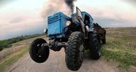Жителю Омской области было лень идти за сигаретами и он угнал трактор
