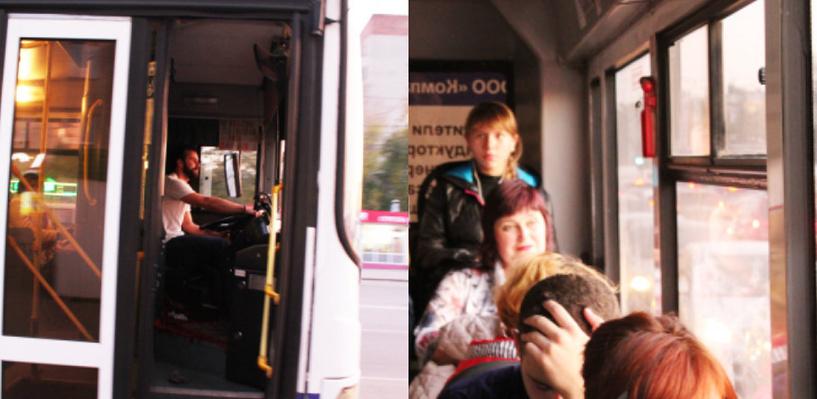 Омский маршрутчик-фотомодель Артем Белозеров пересел на автобус
