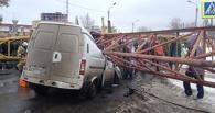 Строители: упавший на людей кран стоял в лужах воды