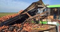 Под Омском грузовик врезался в автобус: 15 человек погибли