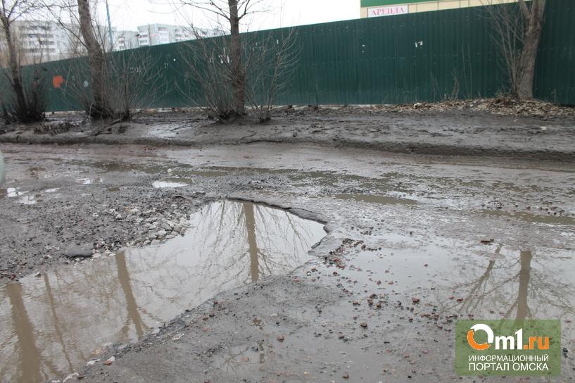 Мэр Омска: ситуацию с дорогами нельзя назвать катастрофической