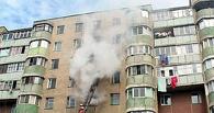 Из-за неосторожного обращения с огнем в Омске сгорела квартира