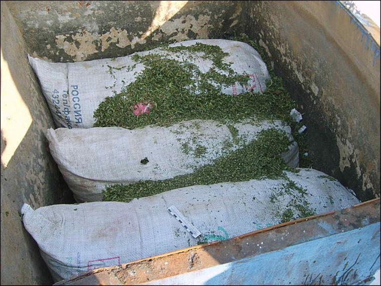 Омич помог наркополицейским изъять 19 кг наркотиков