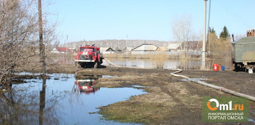Жители затопленной омской деревни: «Мы не спим уже третью ночь»