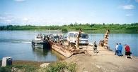 Во всех районах Омской области закрыли паромные переправы