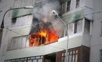 Во время пожара в квартире 72-летний житель Омска получил тяжёлые ожоги