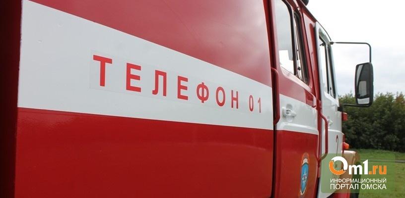 В 14-этажной новостройке в Омске загорелся лифт