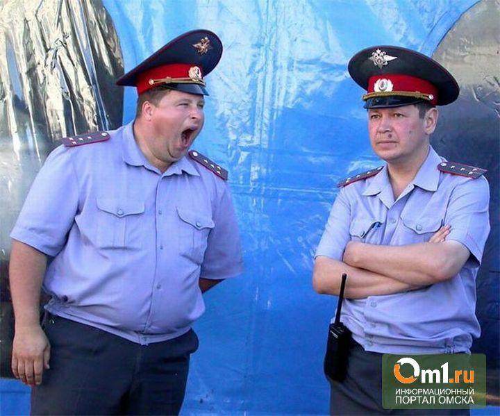 В Омске полицейский «прикарманил» 800 коробок контрафактной водки