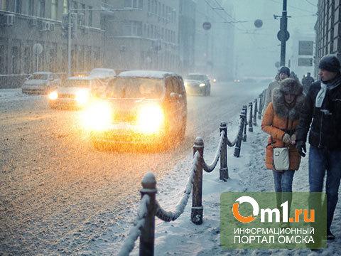 «Месяцем пробок» в Омске признан март 2013 года