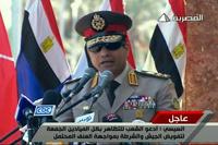 Министр обороны Египта зовет людей на уличные акции