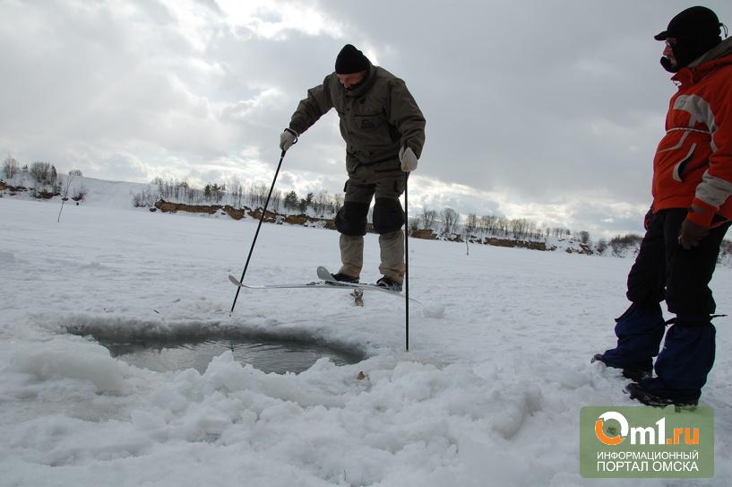 В Омске лыжник провалился под лед Иртыша