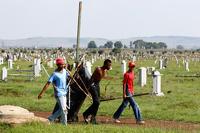 В ЮАР надгробия снабдят противоугонной сигнализацией