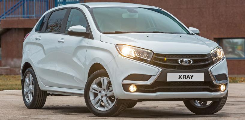 В Омске стартовали продажи новой Lada Xray