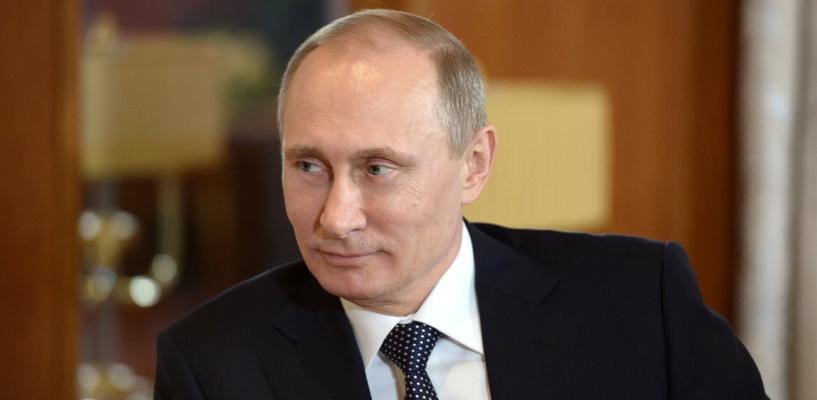 Путин начал пресс-конференцию с грустного анекдота