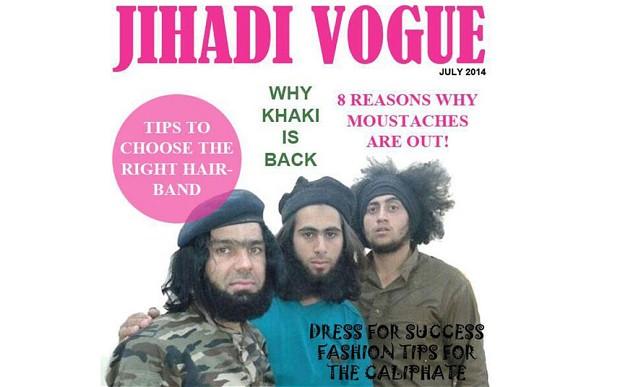 Джихадский Vogue: в Сети появился модный журнал для террористов