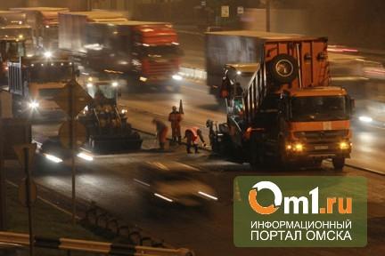 Ночью в Омске Ленинградский мост будут ремонтировать при свете прожекторов