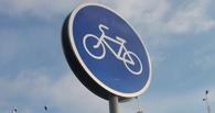 О проблемной велодорожке в центре Омска доложили Назарову