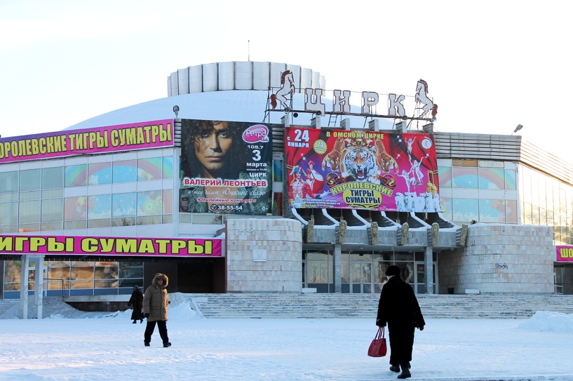Реконструкция омского цирка обойдется федерации в 160 млн рублей