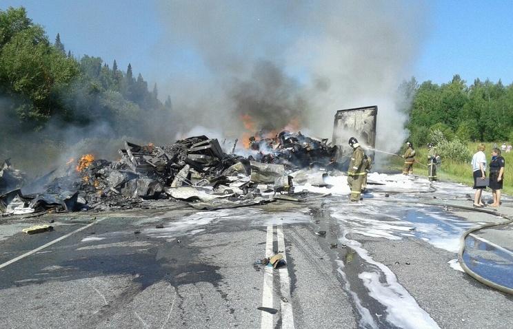 Очередная автокатастрофа с автобусом в Сибири: 11 погибших