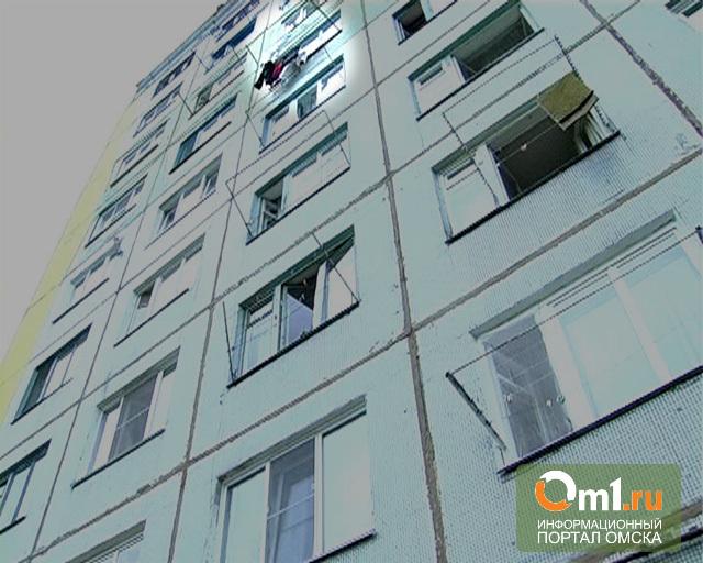 В Омске 33-летний мужчина выпрыгнул с девятого этажа