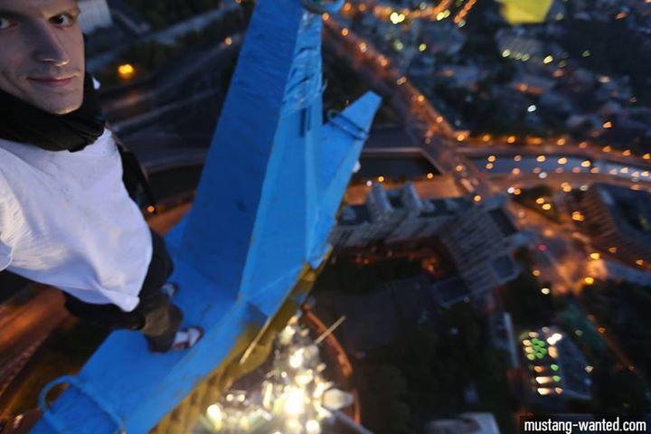 Украинец признался в покраске звезды на сталинской высотке в Москве
