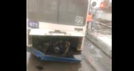 Причиной выпавшего у автобуса двигателя мог быть неисправный переезд
