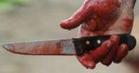 В Калачинском районе женщина разделывала мясо и зарезала мужа