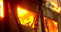 Житель Омской области спас из огня жену и двухлетнего ребенка