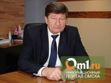 Мэр Двораковский поздравил омичей с Новым годом