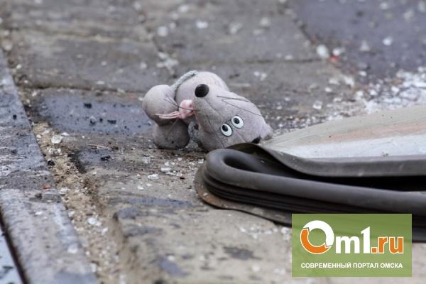 В Омске иномарка сбила во дворах 8-летнюю девочку