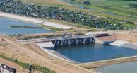 На Красногорском гидроузле под Омском предотвратили аварию, укрепив основание
