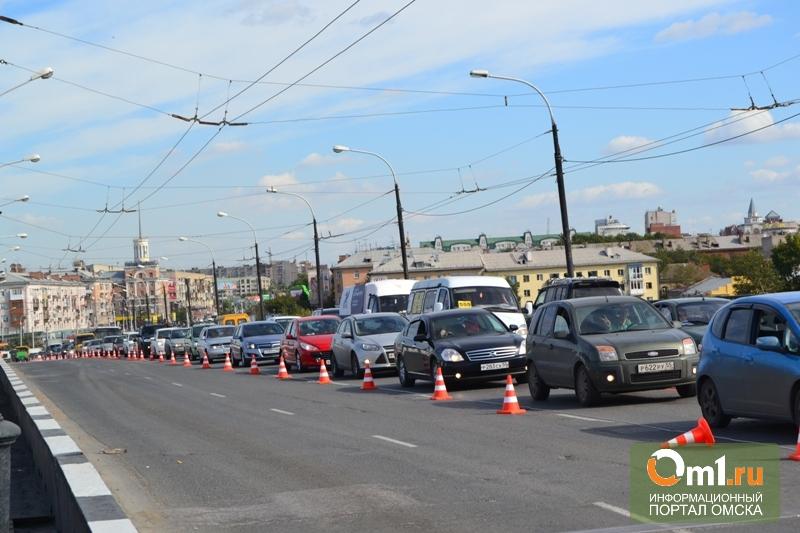 В Омске закончили ремонт Ленинградского моста