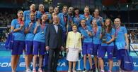 Российские волейболистки выиграли Кубок Ельцина в девятый раз