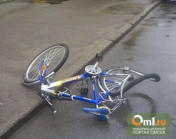 В Омске автобус ЛИАЗ сбил 11-летнего мальчика на велосипеде