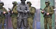 Солдат с котенком на руках: в России появился первый памятник «вежливым людям»