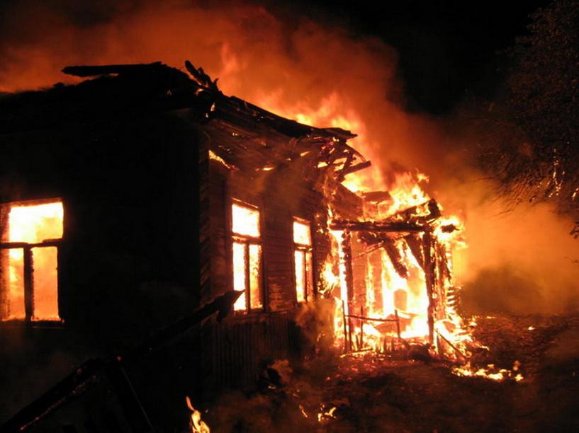 В Омской области на пожаре погибла целая семья