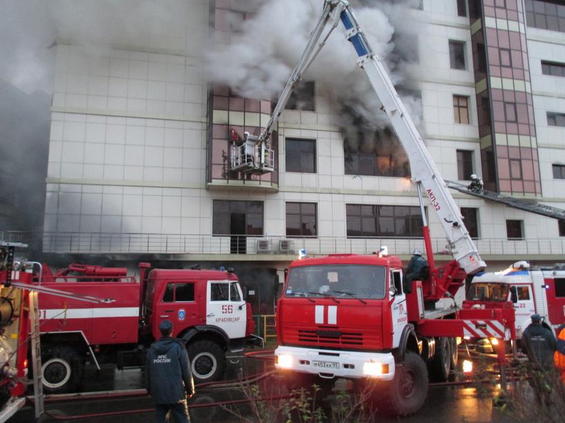 В 2014 году Омск горел на 21% меньше, чем в прошлом