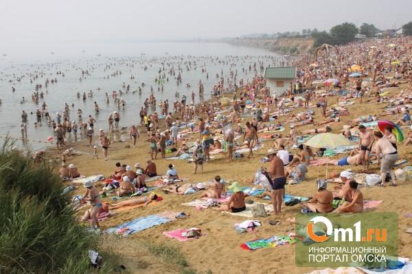 Омская мэрия потратит по 2 млн рублей на каждый пляж