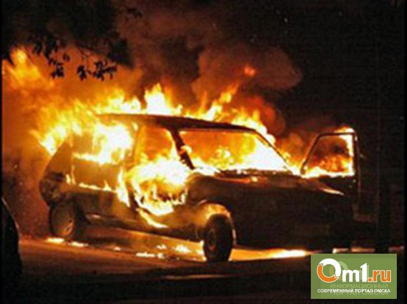 Пожарные спасли омича из горящего авто в Старом Кировске