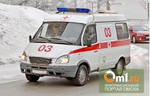 В Омской области водитель маршрутки не заметил на дороге колеса от «КАМАЗа»