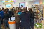 Иностранцы скупают в российских магазинах телевизоры и iPhone