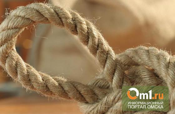 Омичка задушила бывшего мужа бельевой веревкой
