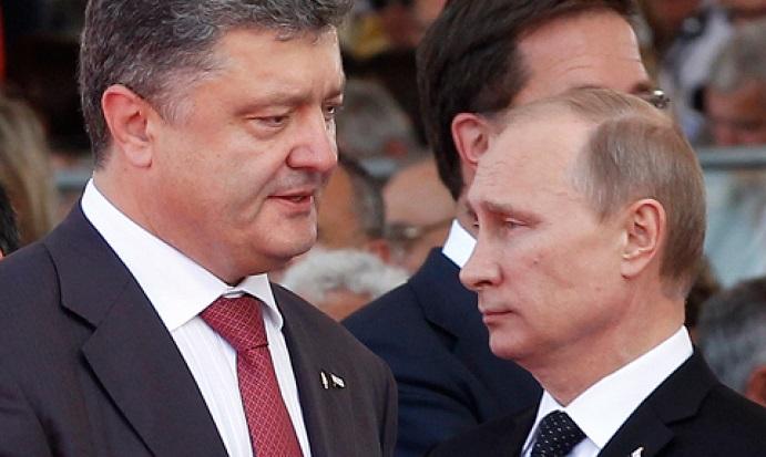 «Обсудили шаги»: пресс-служба Порошенко поправила сообщение о переговорах с Путиным