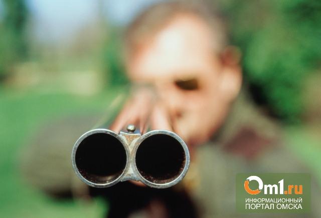 Житель Омской области, поссорившись с женой, застрелил двух ее телят
