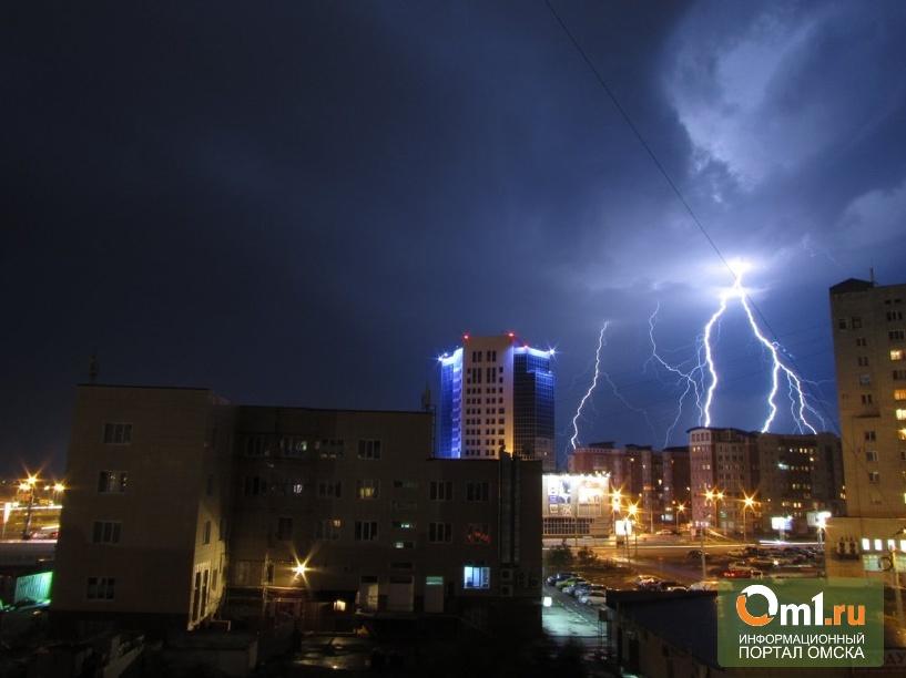 МЧС: на Омскую область вновь надвигается ураган