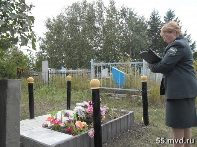 В Омской области поймали похитителей кладбищенских оградок