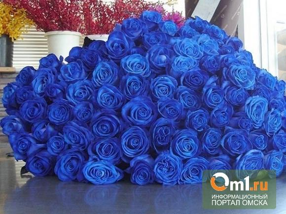 В Омске 14 февраля принято дарить розы и орхидеи