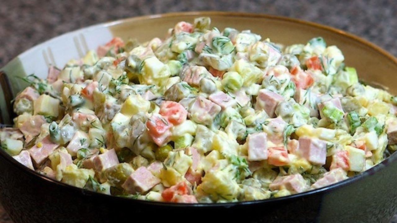 Классические салаты на новый год рецепты