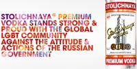 Stolichnaya поддержала геев в ответ на бойкот русской водки