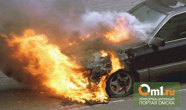 Житель Омской области обгорел, пытаясь потушить свое авто
